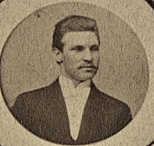 Nels Peter Tulen upon his graduation at Augustana College in 1895